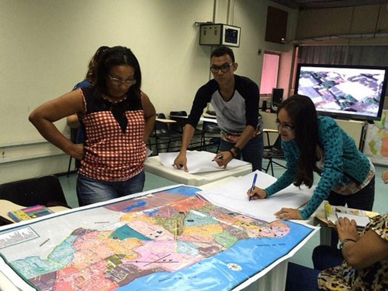 mapeamento local